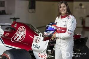夢の女性F1ドライバーを目指して! タチアナ・カルデロン「スーパーフォーミュラでのチャンスを最大限に活かしたい」