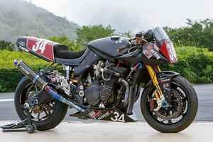 カスタムファクトリー刀鍛冶GSX1100S(スズキGSX1100S)ツクバ59秒でラップするハーキュリーズ ・カタナ【Heritage&Legends】
