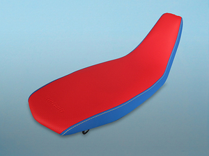 CRF250L/RALLYユーザー必見。滑りにくい特殊レザー仕様のブッシュシートが新型に対応