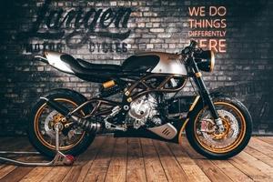 Langen Motorcyclesの2ストエンジン搭載車「Two Stroke」登録完了でついに公道デビュー