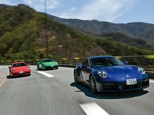 【試乗】ポルシェ 911タルガとターボ、718ケイマンTから考える、ドイツのスーパースポーツに惹かれる理由