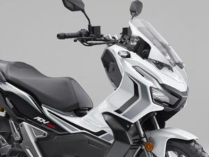 【ホンダ】アドベンチャースタイルのスクーター「ADV150」に限定カラー「ロスホワイト」を追加し7/22に発売
