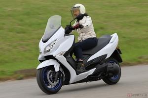 スズキ「バーグマン400」はスポーティで遊び上手!? ママライダーにも優しい紳士的なラグジュアリースクーター
