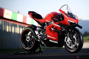 なぜ市販化できるのか? ロードスポーツを追求した超ド級のストリートバイク!! ドゥカティ「スーパーレッジェーラV4」とは
