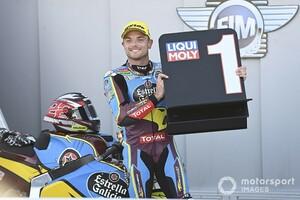 """Moto2アラゴン決勝:""""魔の2コーナー""""で首位が次々と転倒……波乱のレースをロウズが制し2連勝。長島哲太は9位入賞"""