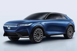 【純EVの将来の方向性】「ホンダSUV eコンセプト」を世界初公開 3ドア・ボディか 北京モーターショー2020