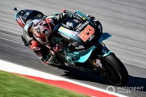MotoGPカタルニアFP3:ヤマハ勢好調続きクアルタラロ首位。中上は終盤に転倒があり15番手で予選Q1スタート