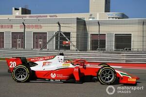 FIA F2ソチ:ミック・シューマッハーがレース1制し今季2勝目。PPスタートの角田裕毅は2位でランキング4番手に浮上