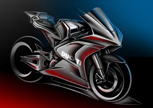 【ドゥカティ】MotoGP の電動バイククラス「FIM Enel MotoE(TM)World Cup」用のマシンを2023年より供給