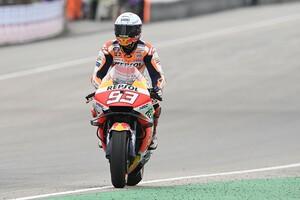 【MotoGP】復活優勝マルケス「これまでの記憶がよぎって集中するのが大変だった」パルクフェルメでは涙も|ドイツGP
