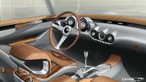 GTO エンジニアリング、開発中のスーパースポーツ「スクアーロ」のインテリアスケッチを公開