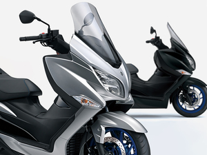 【スズキ】新たにトラクションコントロールを装備!「バーグマン400 ABS」を7/6発売