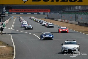 スーパーGT岡山公式テストのエントリーリスト公開。GT500に阪口晴南、GT300にジュリアーノ・アレジの名前