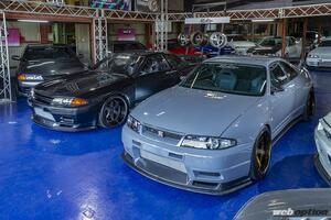 「第二世代GT-Rの火は絶やさぬ!」アクティブ渾身のR32&R33コンプリート仕様が見参【幻の東京オートサロン2021】