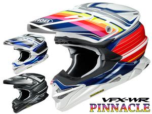 オフロードヘルメット VFX-WR のグラフィックモデル「VFX-WR PINNACLE」がショウエイから5月発売予定