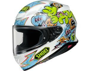 SHOEIが新作ヘルメット「Z-8」のグラフィックモデル「Z-8 ミューラル」を発表!