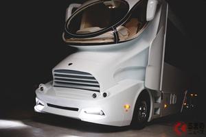 約3億円の高級移動ホテル!? 全長13m超のキャンピングカー「パラッツォスーペリア」はクルーザー並の装備満載!