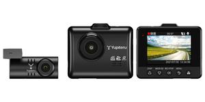 夜間撮影も安心!超高精細な4K映像で録画できるユピテルの前後2カメラドライブレコーダー「Y-4K」