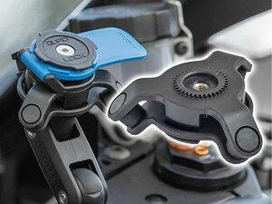 スマホの手振れ補正機能にダメージを与えるバイクの振動を大幅に軽減! クアッドロックの「衝撃吸収ダンパー」が11月末発売