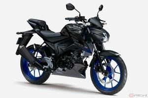 スズキ「GSX-S125」2021年モデル登場 装備重量133kgの軽量な原二ストリートスポーツモデル
