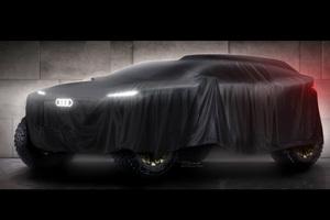 アウディ 電動モデルでモータースポーツに挑戦 2022年「ダカール ラリー」に参戦