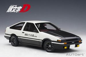 「もう実車だなこれ・・・」超精巧な頭文字Dの藤原拓海AE86スケールモデルが爆誕!!