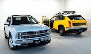 光岡自動車がブランド初のSUV「バディ」の先行予約受付を開始。車両価格は2.0Lガソリン車が469万7000円~549万4500円、2.5Lハイブリッド車が525万300円~589万9300円に設定
