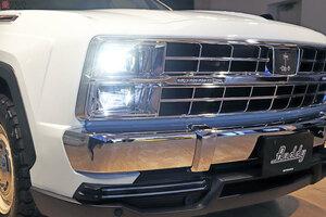 なぜ今「ビンテージのアメ車風」なのか 話題の光岡SUV「バディ」公開 四角い車に自信