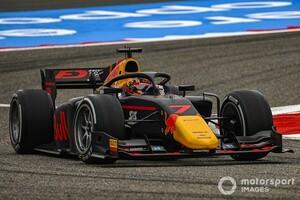FIA F2サクヒール予選:角田裕毅、まさかのスピンで最後尾スタートに。アイロットが今季5度目の予選PP