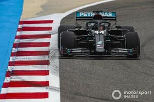 F1バーレーンFP1:ハミルトンが首位発進。ホンダ勢はアルファタウリのガスリーが5番手につける