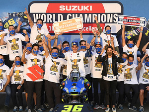 【スズキ】「2020 MotoGP ジョアン・ミル チャンピオングッズ」の予約販売をスタート! 受付は12/21まで
