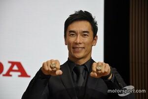 佐藤琢磨、F1目指す角田裕毅にエール。「岩佐歩夢とレースしてみたい」とも……