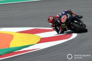 MotoGPポルトガルFP3:ファビオ・クアルタラロが総合トップ。マルク・マルケスは15番手でQ1スタート