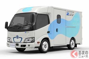 日野が新型「デュトロ Z EV」発表 ウォークスルー可能な小型EVトラックを2022年導入へ