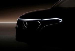 【GLBベースの電動SUV】新型メルセデス・ベンツEQB ティザー画像公開 航続距離500km