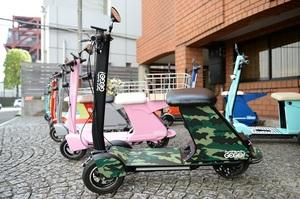 """スピード抑えめ、自転車より楽に移動できる電動パーソナルモビリティ「Future mobility """"GOGO!""""」に乗ってみた"""