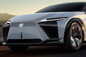 544馬力のEVのスーパーSUV レクサスLF-ZはEVのSUV世界一か?