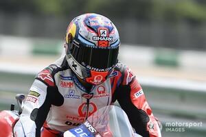 【MotoGP】ホルヘ・マルティン、FP3のクラッシュで負傷し予選・決勝は欠場へ。骨折の疑いも