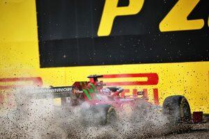 クラッシュのルクレール、速さに自信「取り消されたタイムは最速。予選が楽しみ」/フェラーリF1第2戦金曜