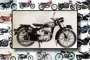 『GSX-R125/GSX-S125』のご先祖様!  スズキ初の原付二種/125ccバイクはコレだ!【スズキのバイク今昔辞典 Vol.004/コレダCOX(1955年)】