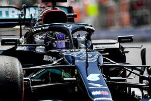 F1ハンガリー予選:ハミルトン、0.3秒差のポールポジション獲得。角田裕毅はQ1敗退16番手