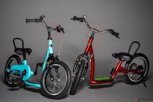 足けりバイク・キックスケーター・自転車 1台3役の幼児用自転車「キックル」登場