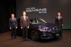 自動運転レベル3を実現した新型「ホンダ・レジェンド」が100台限定販売!