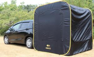 テント、ハンモック、遮光カーテン、ヒッチラック、車中泊を快適化する便利グッズ4選