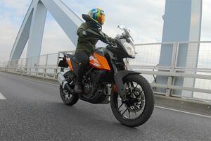 """155cm女子ライダーの、少しは参考になるかも? インプレッション """"KTM 250 ADVENTURE""""【レディスバイク】"""