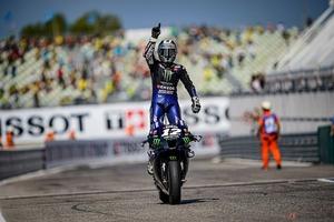 2020年MotoGP第8戦 リタイヤ続出のなかヤマハのM・ビニャーレスが今季初優勝