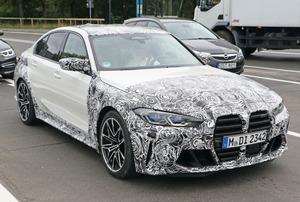 【スクープ】Xデーは9月23日? 次期「BMW Ⅿ3セダン」の接写に成功!
