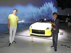 「フェアレディZ統括責任者とスモーキー永田が奇跡の対面!」知られざる新型Zの開発裏話