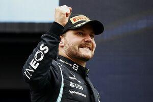 好調続くボッタス、メルセデス離脱決定も来季F1契約固まった状況が好影響? 「ドライビングのことだけに集中できた」