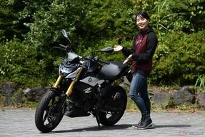 『小野木里奈の○○○○○日和』 BMW「G310R」の乗りやすさと扱いやすさは超一級品!